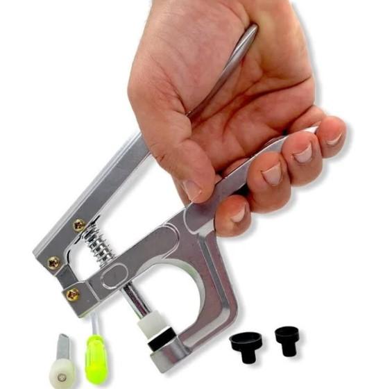 Alicate de Pressão para Botão de Plástico