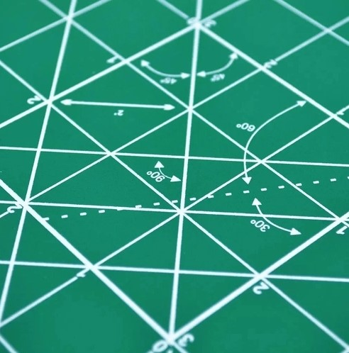 Base de Corte - Verde 21x29,7cm