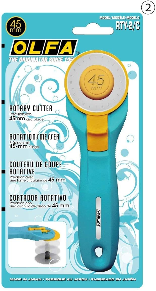 Cortador Rotativo Circular Olfa RTY-2C 45mm