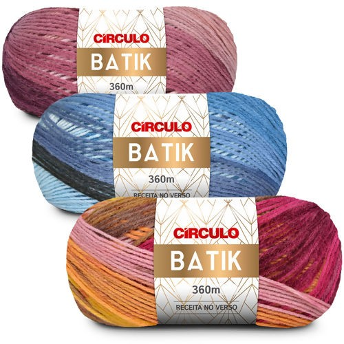 Lã Batik - Circulo - 100g