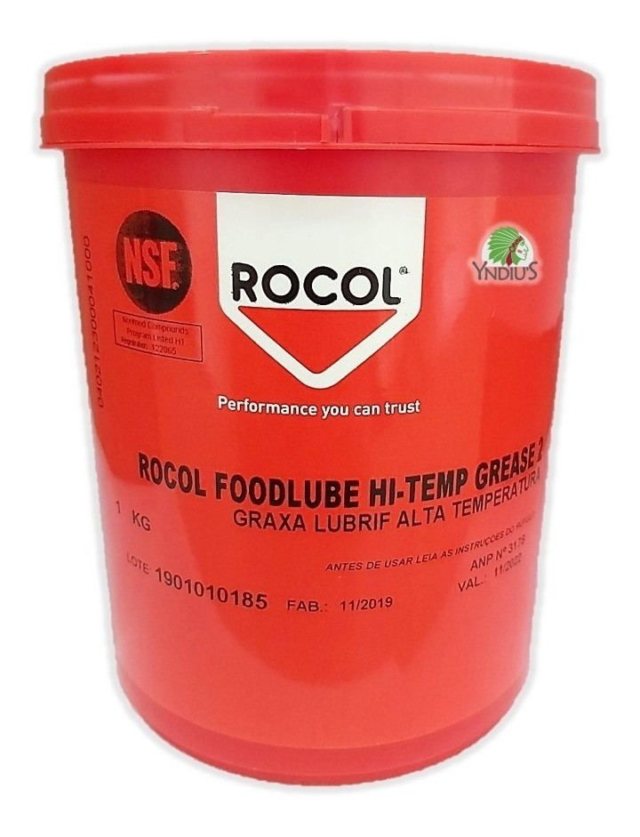 FOODLUBE HI-TEMP GREASE 2 - 1 Kg