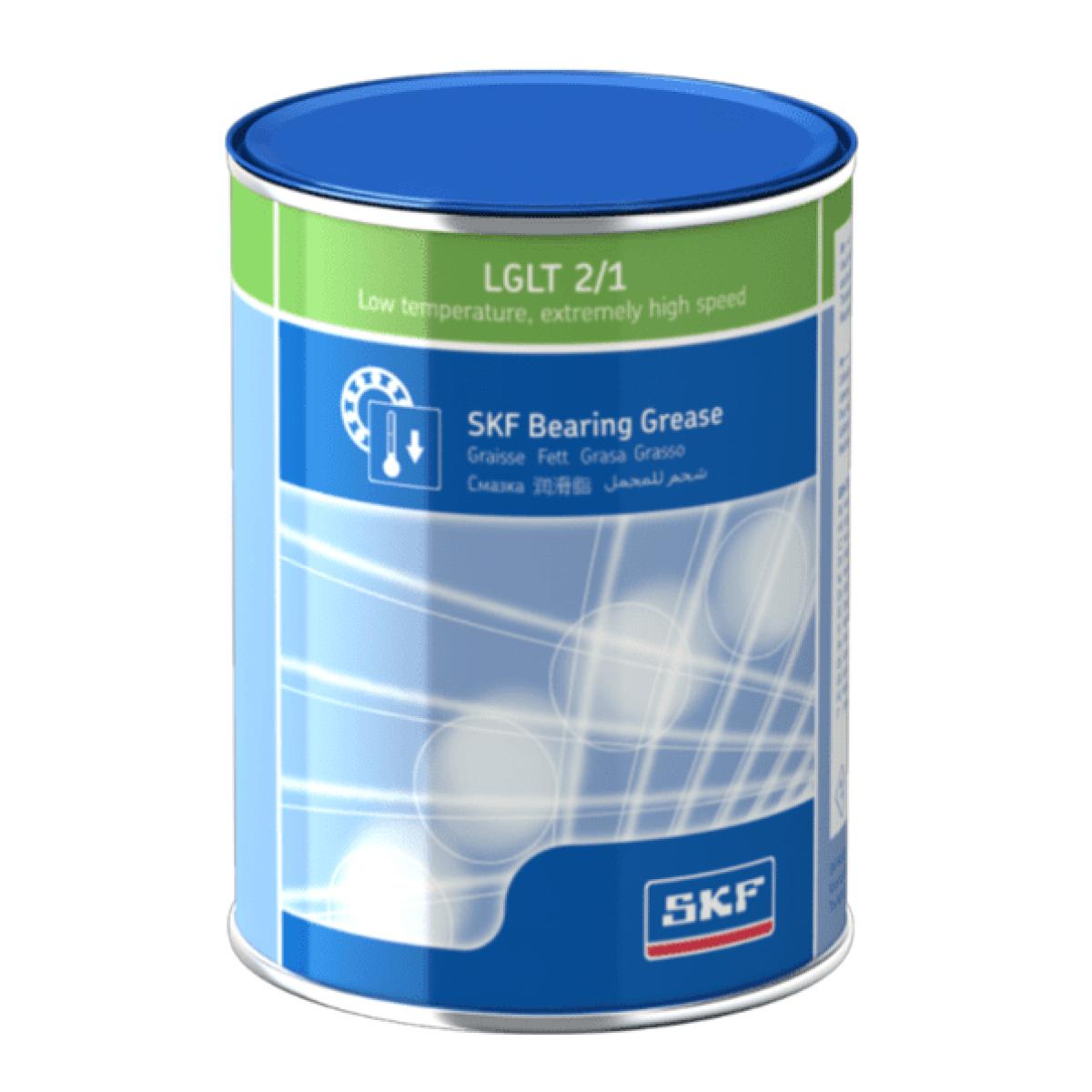 Graxa baixa temperatura velocidade extrema alta SKF LGLT 2/1