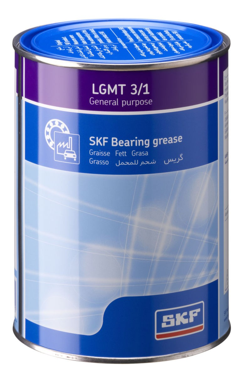 Graxa NLGI3 uso geral industrial e automotivo SKF LGMT 3/1