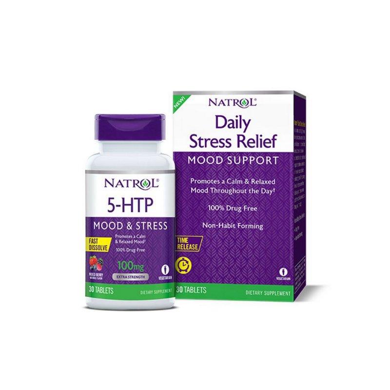 5-HTP 200mg 30 Tabs Time Release -  Natrol