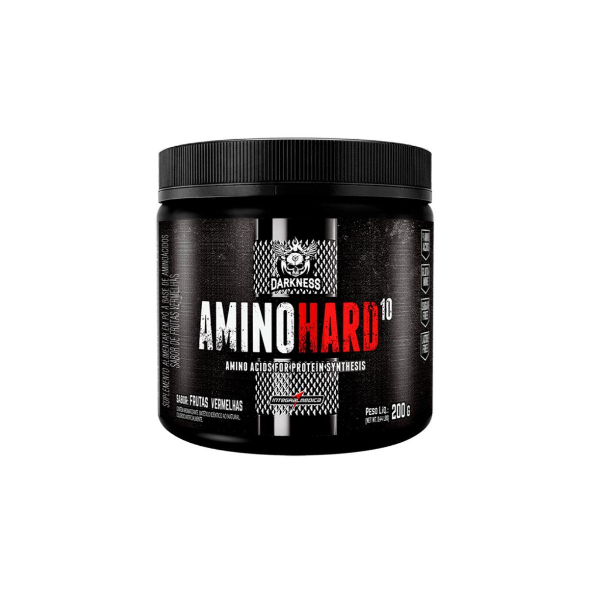 Amino Hard 10 Darkness 200g - IntegralMédica
