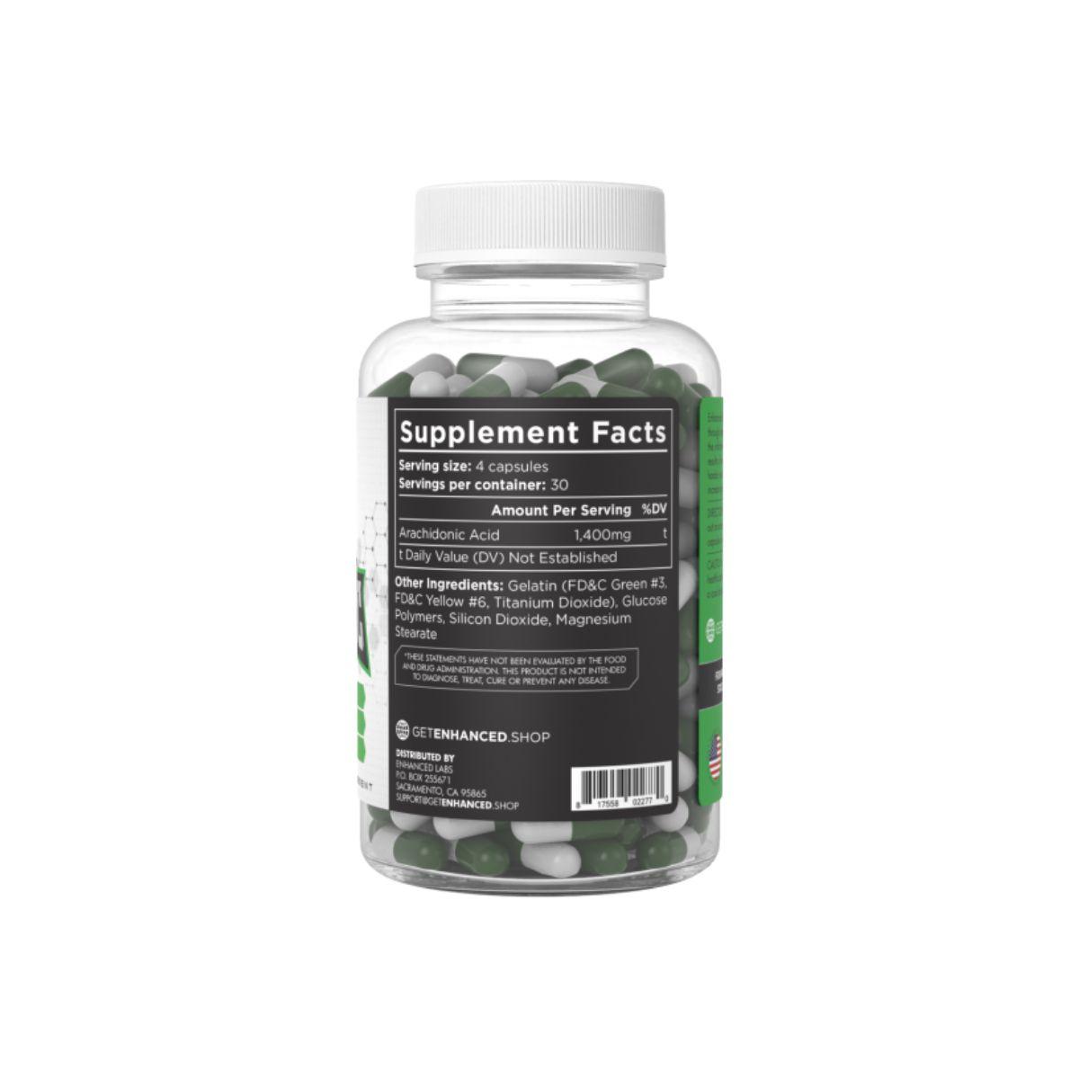 Arachidonic Acid 60 caps - Enhanced Athlete