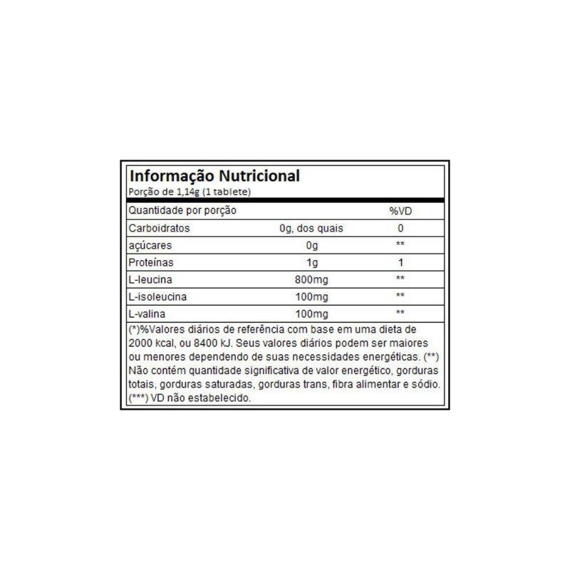 Bcaa 100% Platinum 8:1:1 60Caps 1000Mg - Muscletech