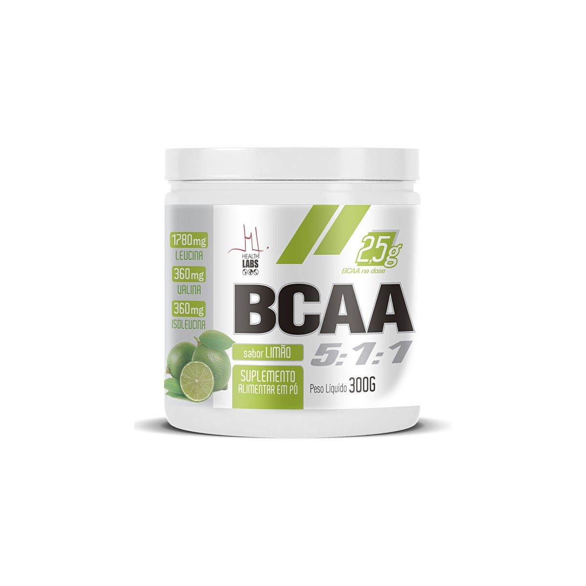 BCAA 5:1:1 300g - Health Labs