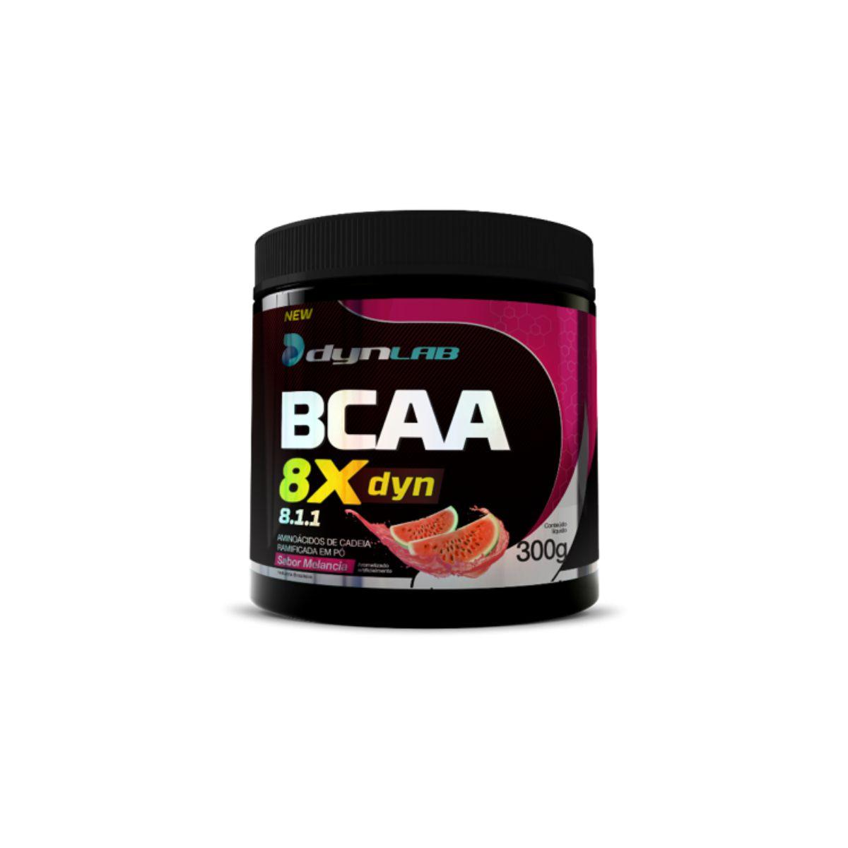 BCAA 8x Dyn Melância 300g - Dynamic Lab