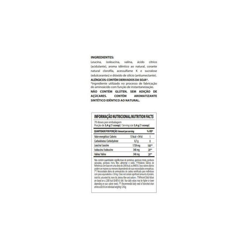 Bcaa Fix Powder Darkness 240g - IntegralMédica