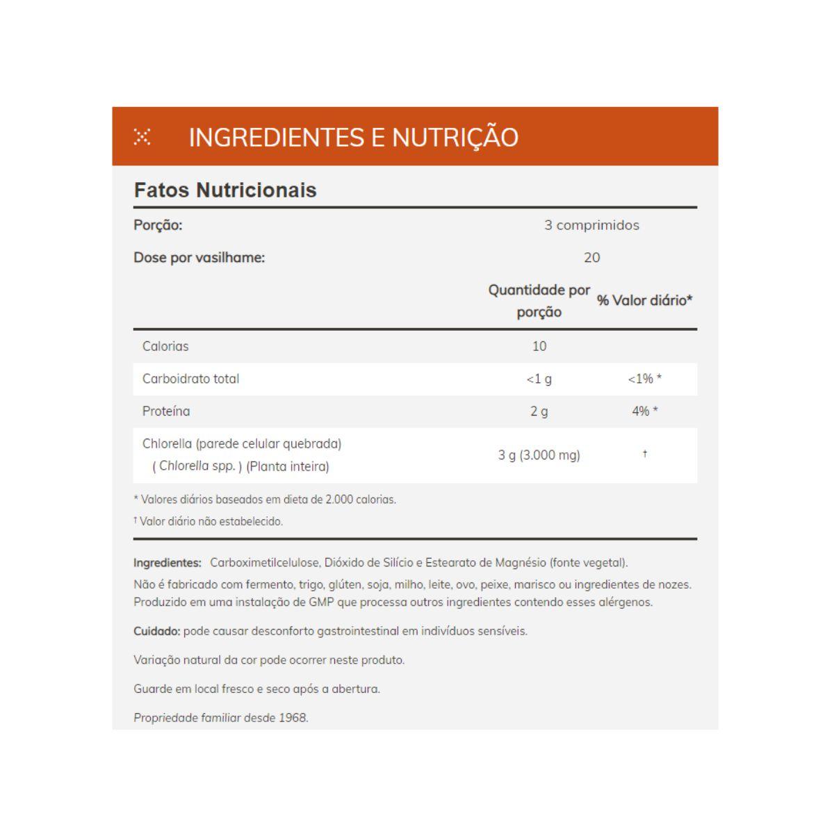 Chlorella 1000mg Super Green 60 Caps - Now Foods