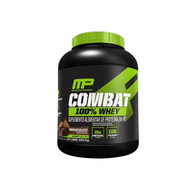 Combat 100% Whey 1814g  - MusclePharm