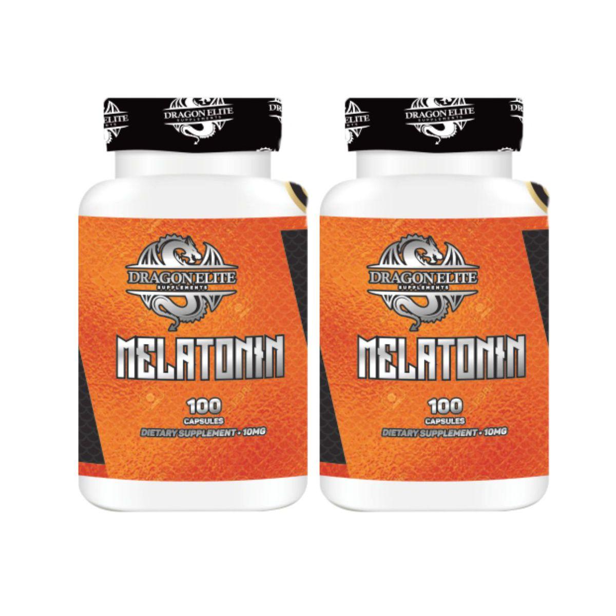 Combo 2 Melatoninas 10mg 100tabs - Dragon Elite