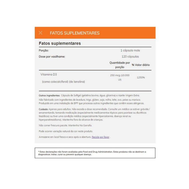 Combo Imunidade Para Homens Optimen 90 Tabs + Vitamina D3 10mil UI 120 Caps Now Foods