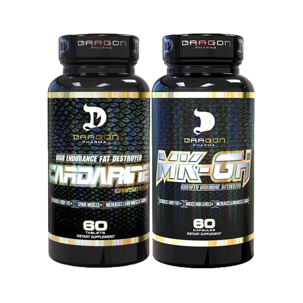 Combo MK GH (MK677)  + Cardarine - Dragon Pharma