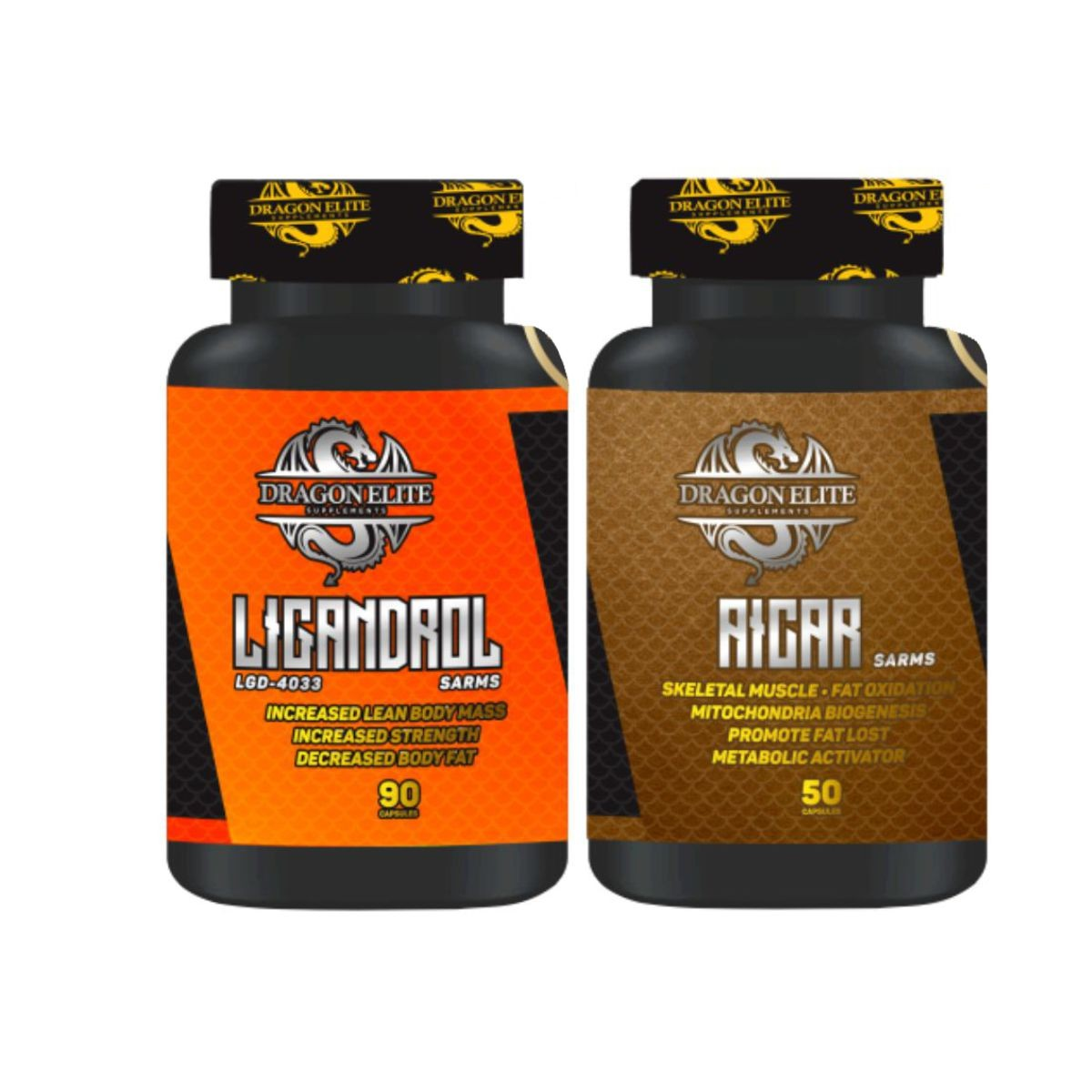 Combo Sarms Performance Ligandrol (LGD-4033) + Aicar - Dragon Elite