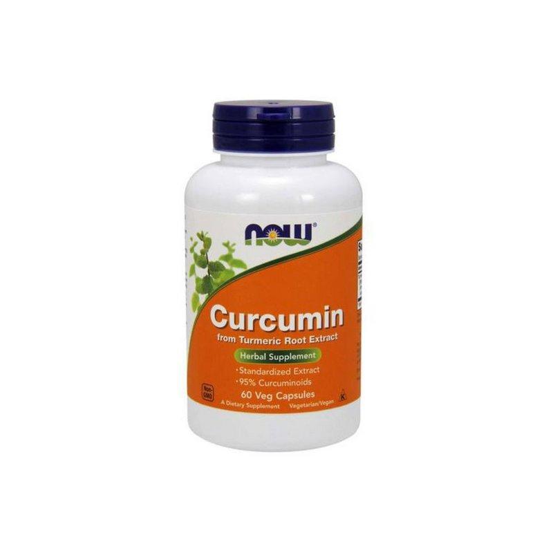 Curcumin 60 Caps - Now Foods