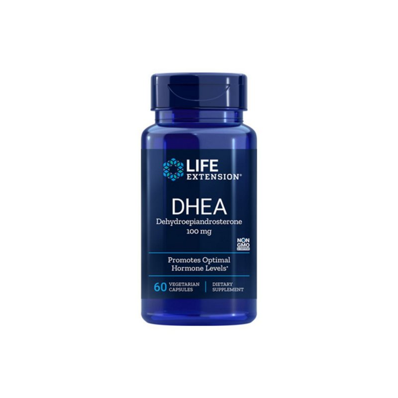 DHEA 100mg 60 Caps - Life Extension
