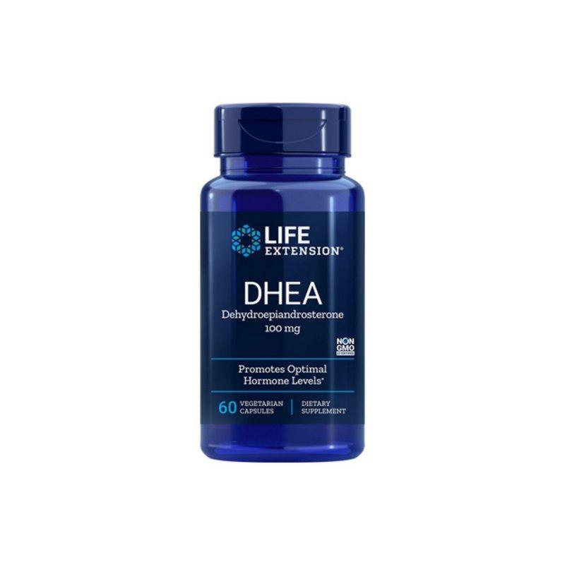 DHEA 100mg 60 Caps - Life Extension