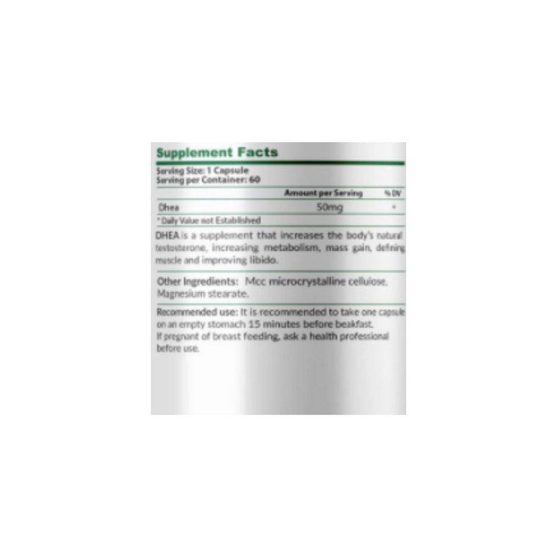 Dhea 50mg 60 Cápsulas - KN Nutrition