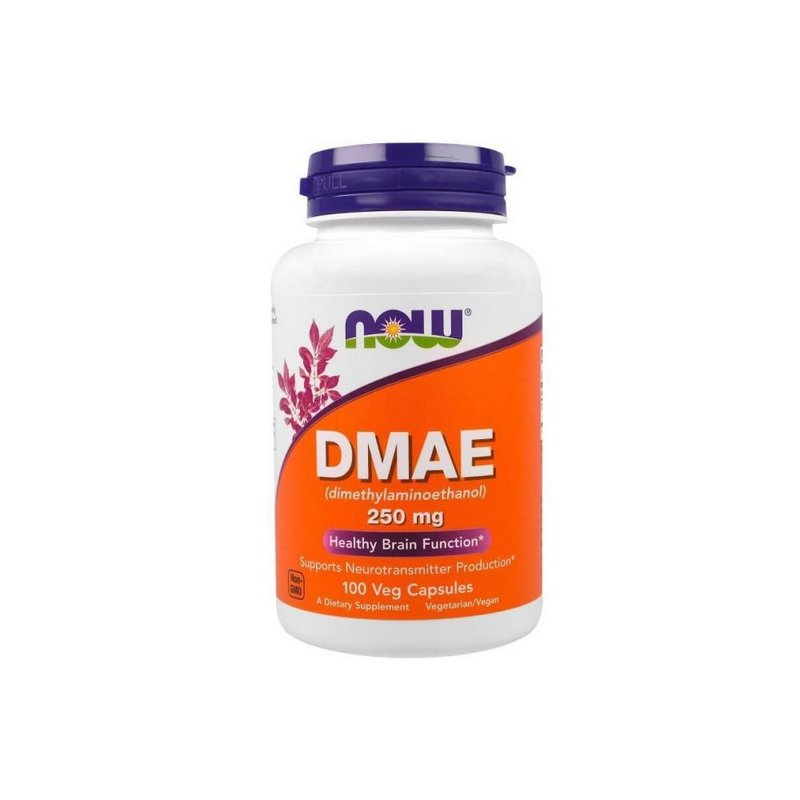 DMAE 250MG 100Caps - Now Foods