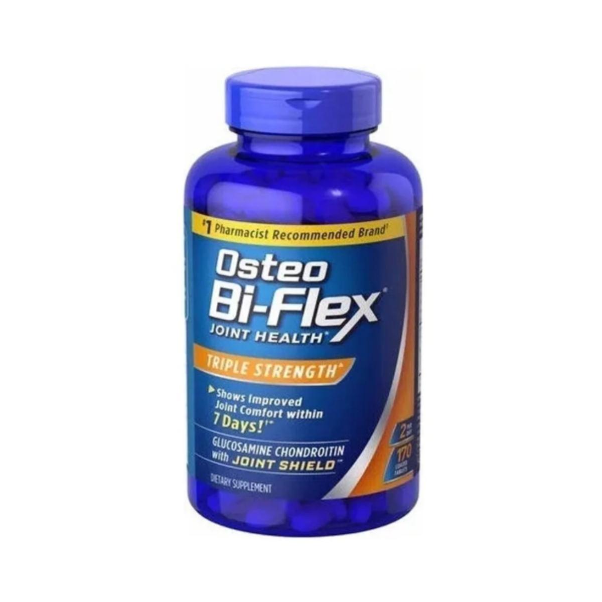 Glucosamina & Chondroitin Triple Strenght 170 Tabs - Osteo Bi-Flex