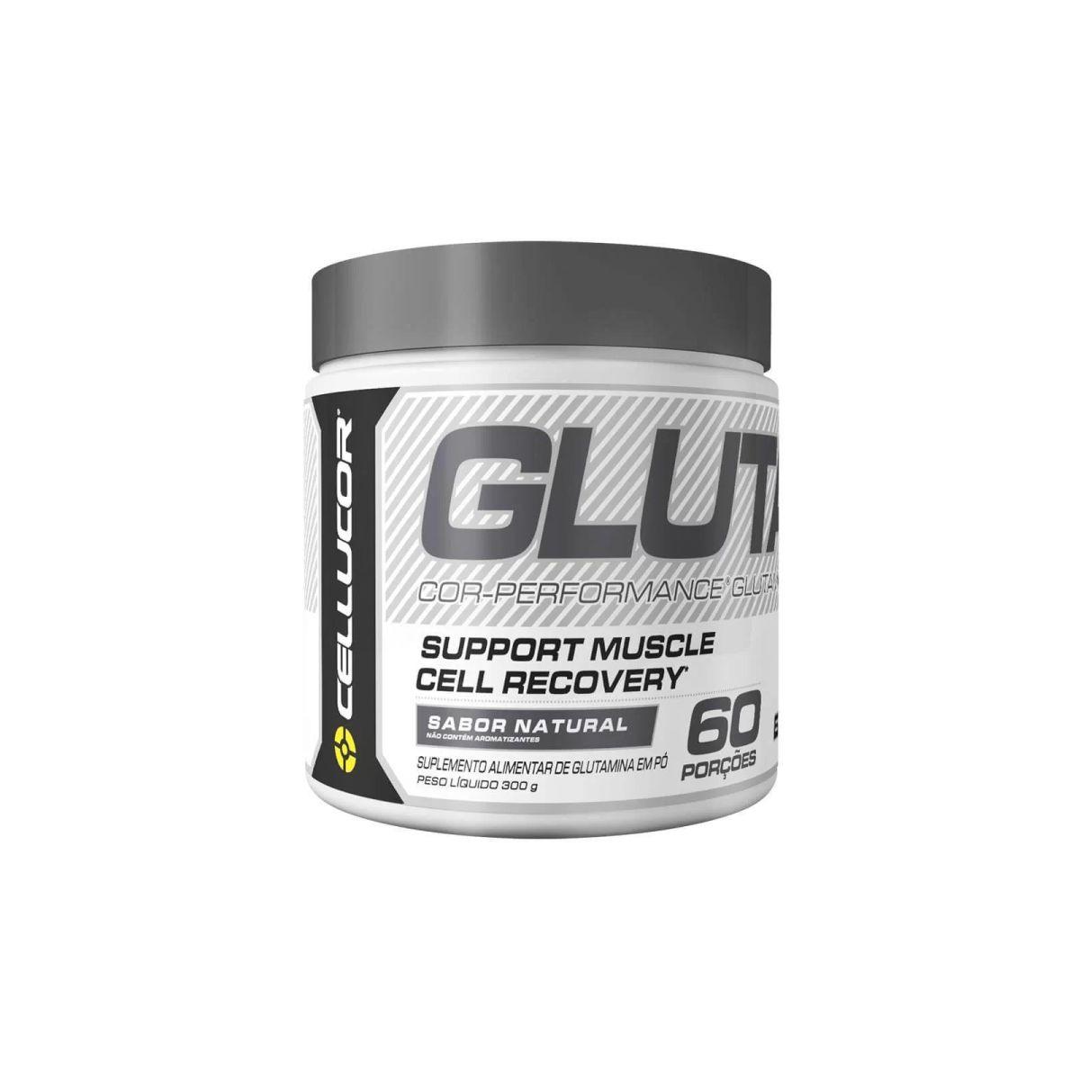 Glutamina Cor-Performance 300g 60 Doses - Cellucor
