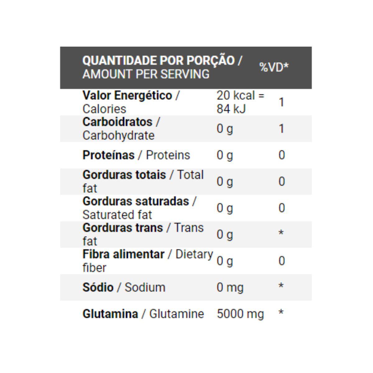 Glutamina Natural Isolada 1kg - IntegralMédica
