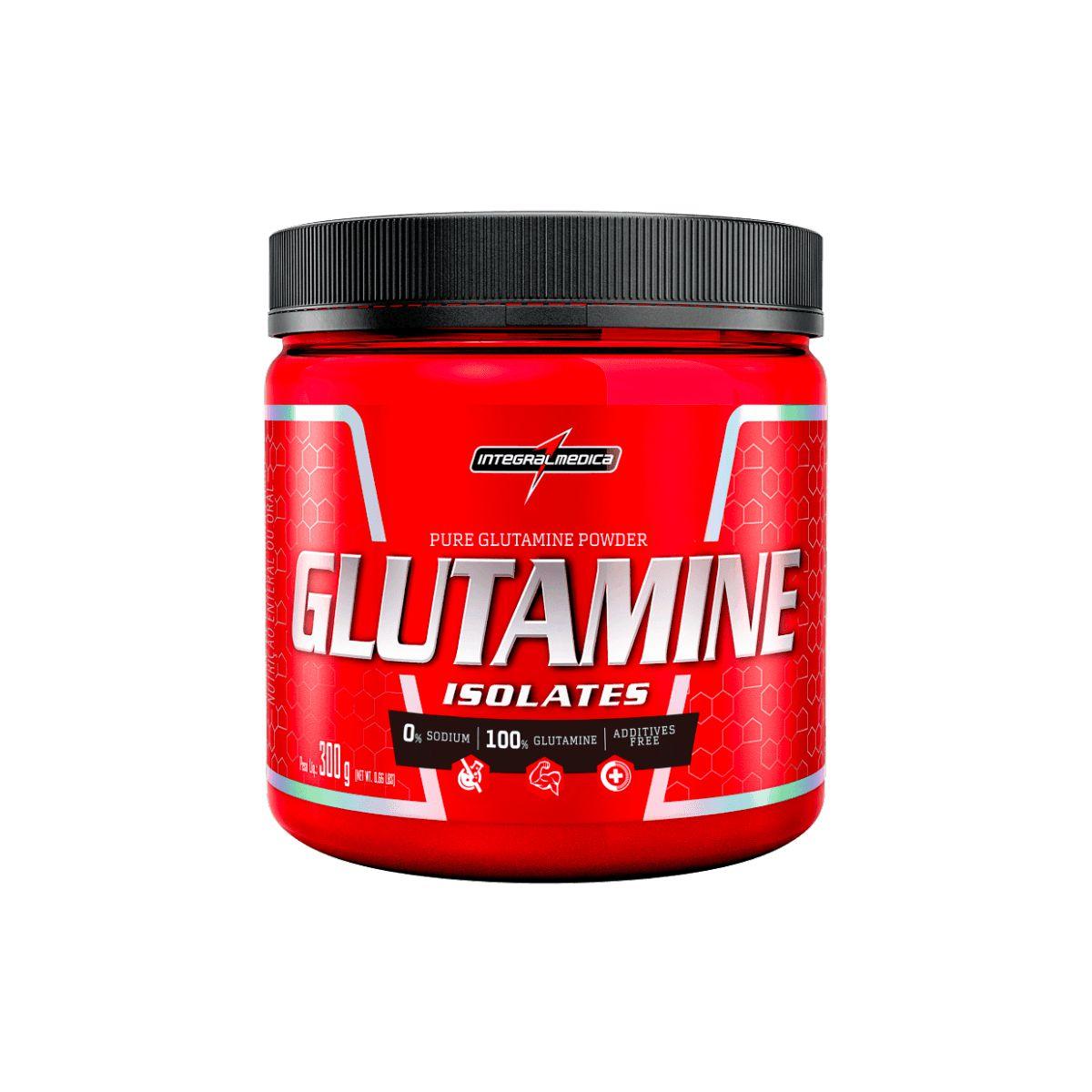 Glutamina Natural Isolada 300g - IntegralMédica