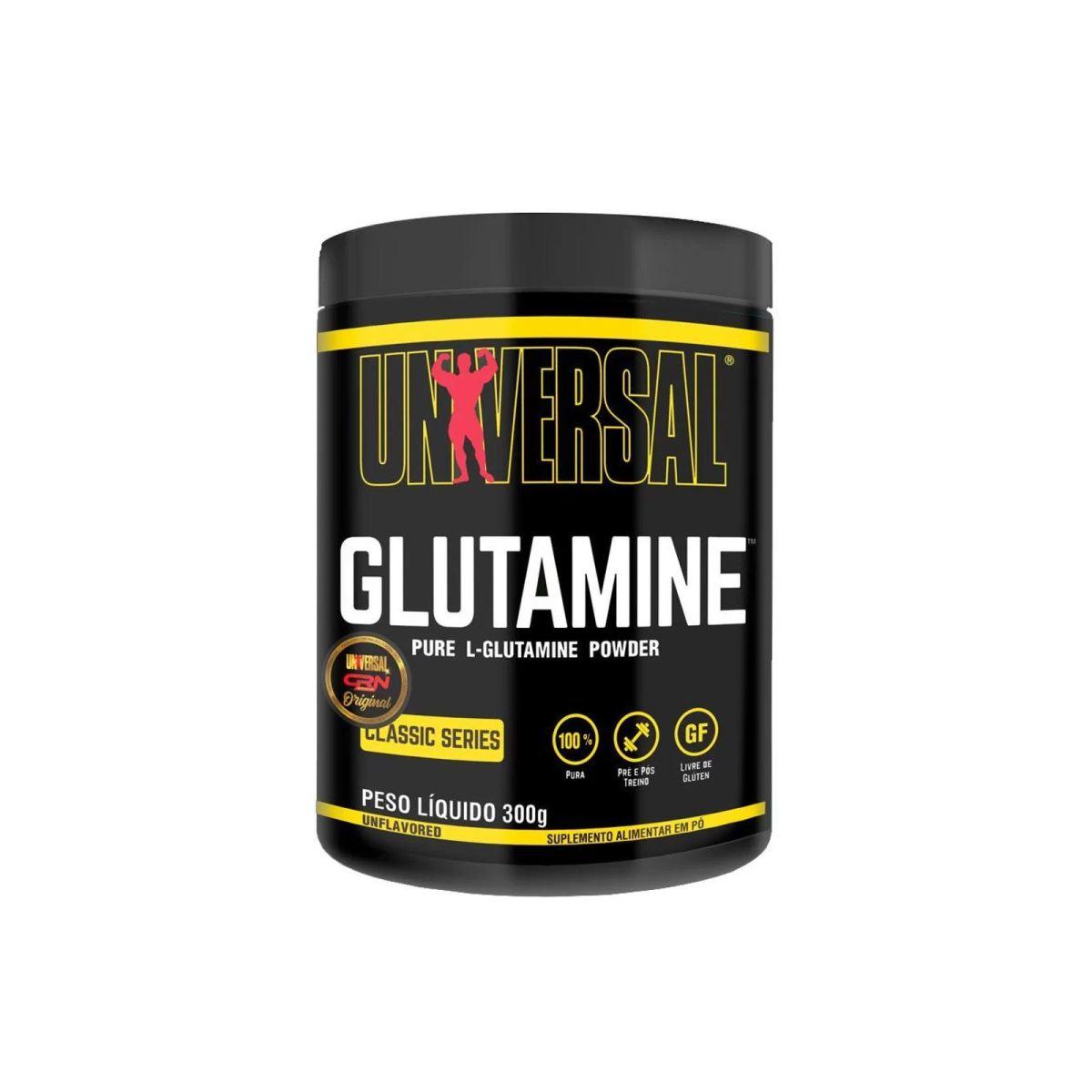 Glutamina Pure 300g - Universal Nutrition