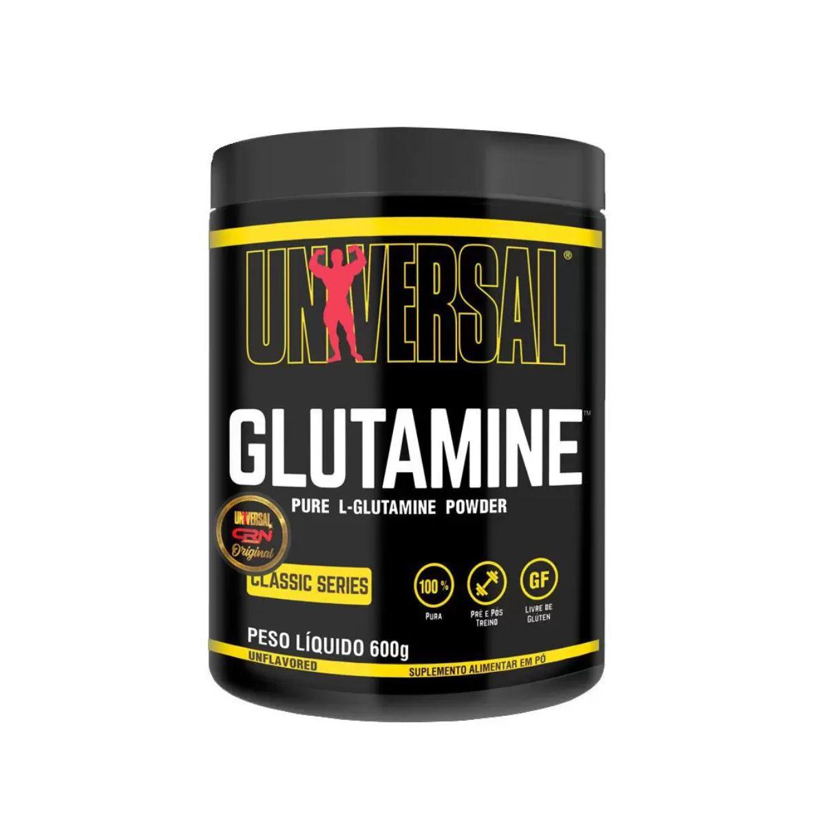 Glutamina Pure 600g - Universal Nutrition