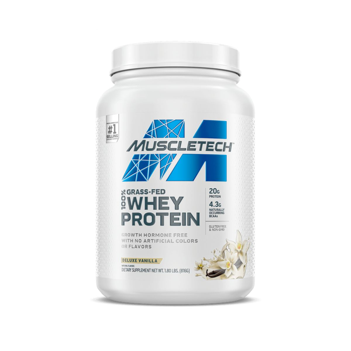 Grass Fed 100% Whey Protein (816G) - Muscletech