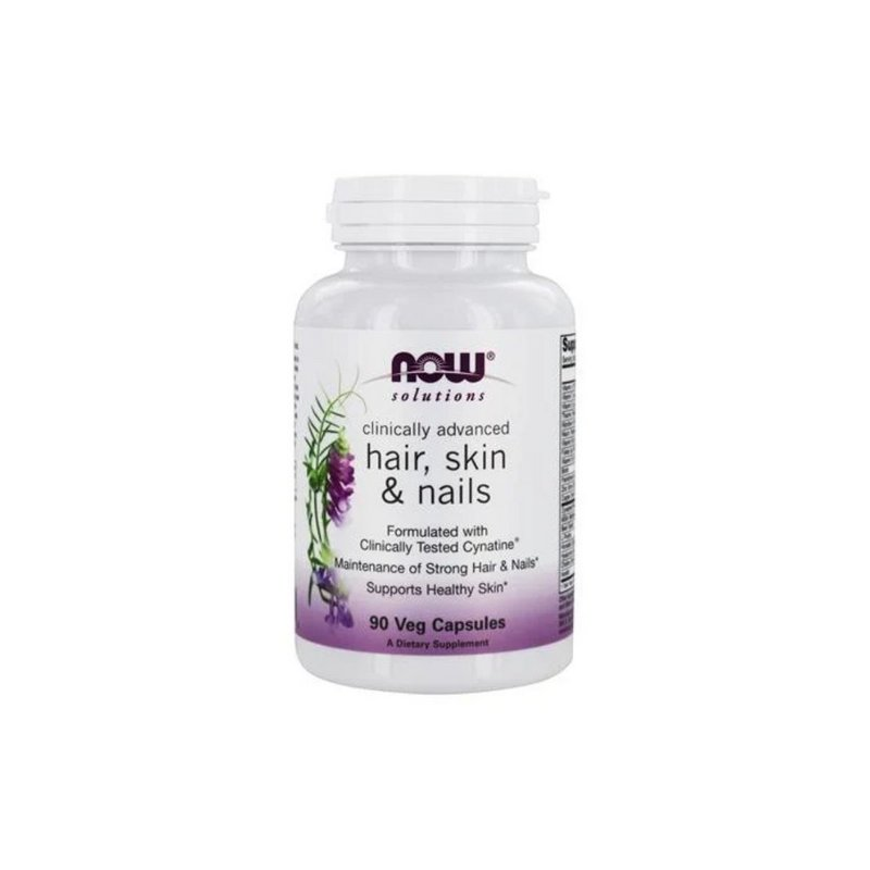 Hair, Skin & Nails (90 cápsulas) - Now Foods