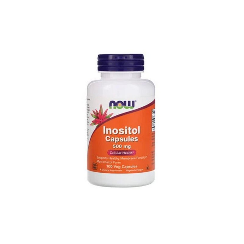 Inositol 500 mg 100 Caps - Now Foods