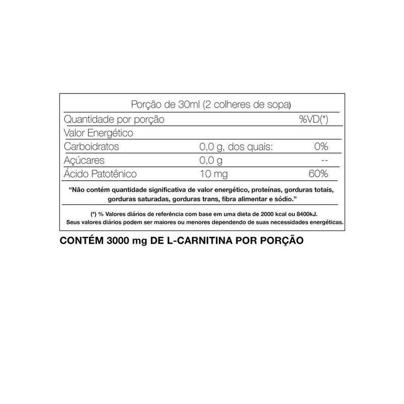 L-Carnitina 465ml - Adaptogen Science