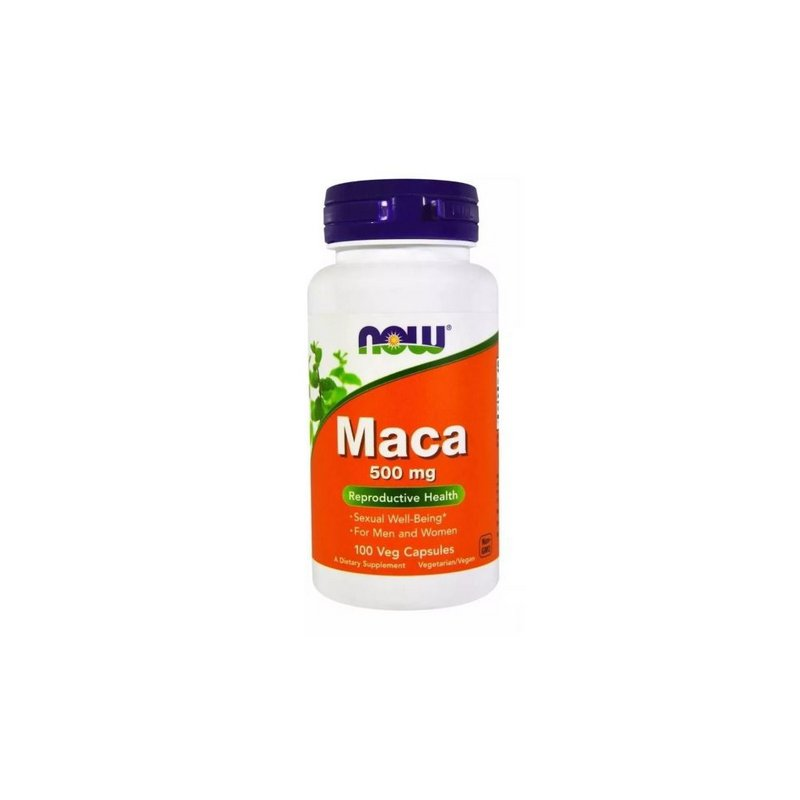 Maca 500 mg 100 Caps - Now Foods