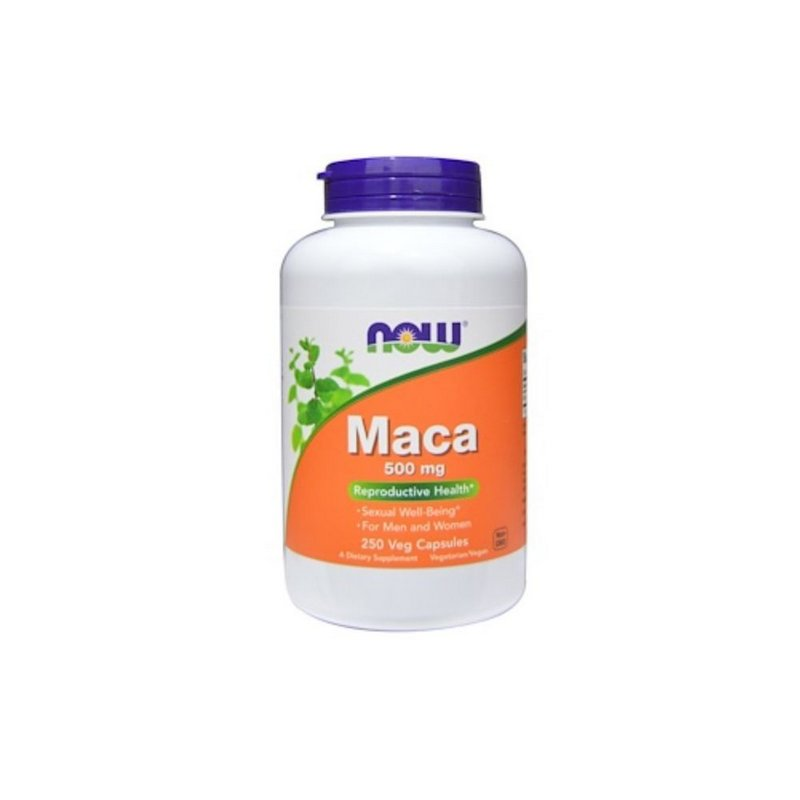 Maca 500 mg 250 Caps - Now Foods