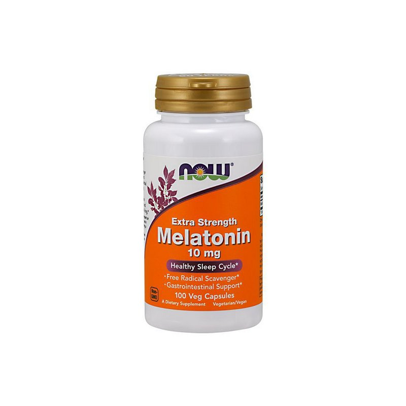 Melatonina 10 mg 100 Veg Capsulas - Now Foods