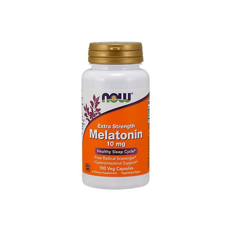 Melatonina 10 mg 100 Veg Capsulas - Now Foods