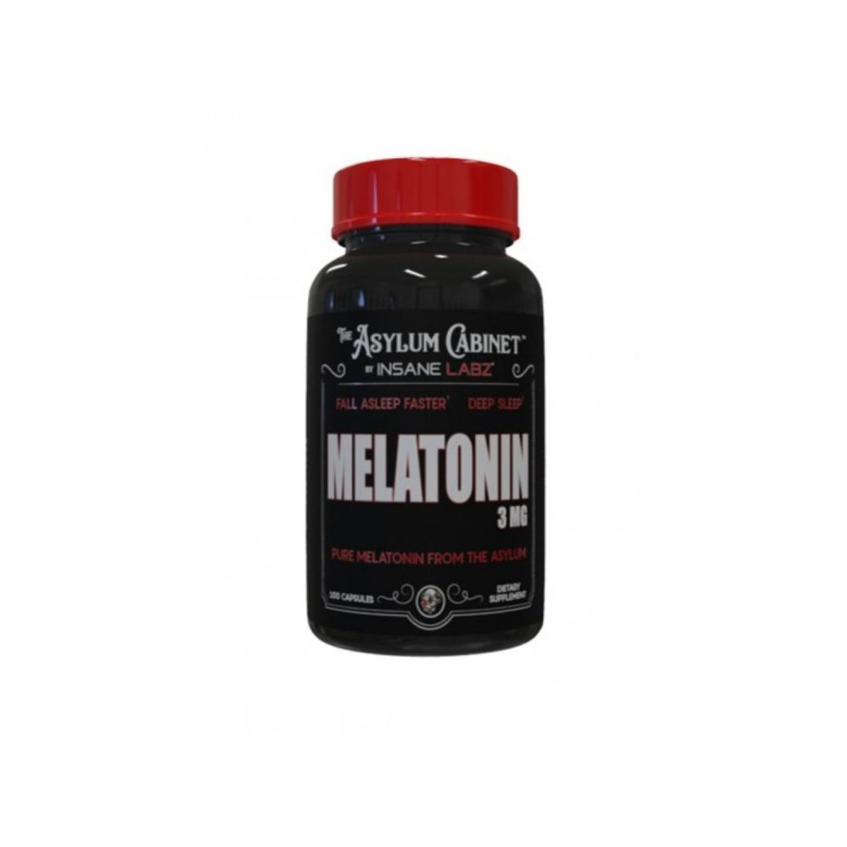 Melatonina 3mg 100 Caps - Insane Labz