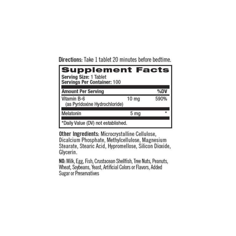 Melatonina 5mg 100 Tabs Time Release - Natrol