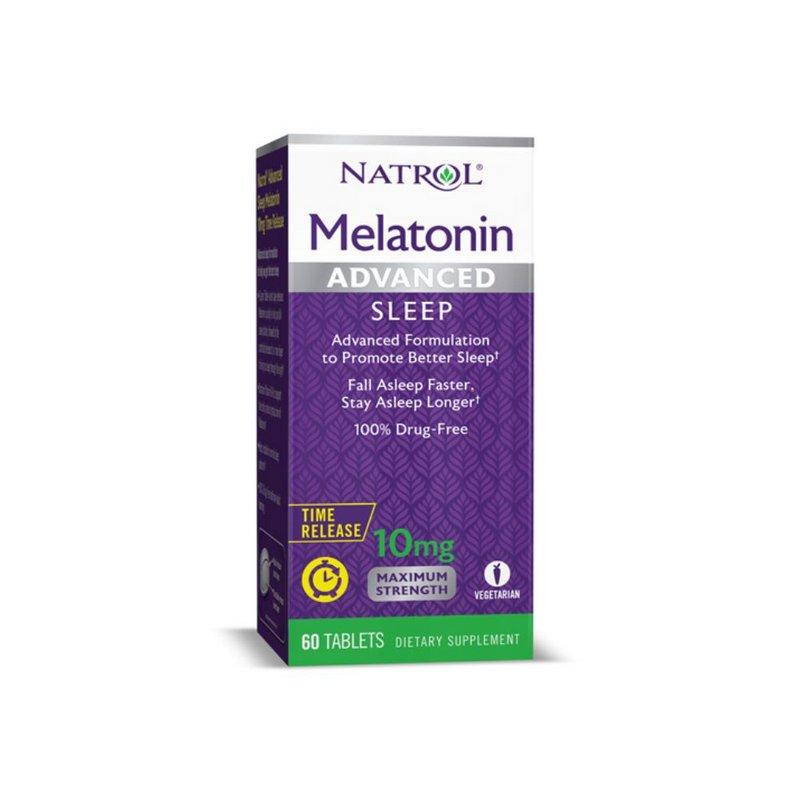 Melatonina Advanced 10mg 60 Time Release - Natrol