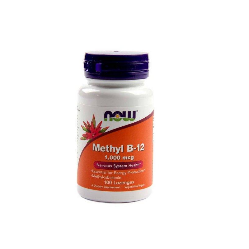 Methyl B-12 1000mcg 100Caps - Now Foods