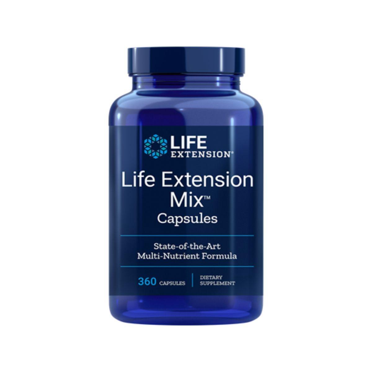 Mix Capsules 360 Caps - Life Extension