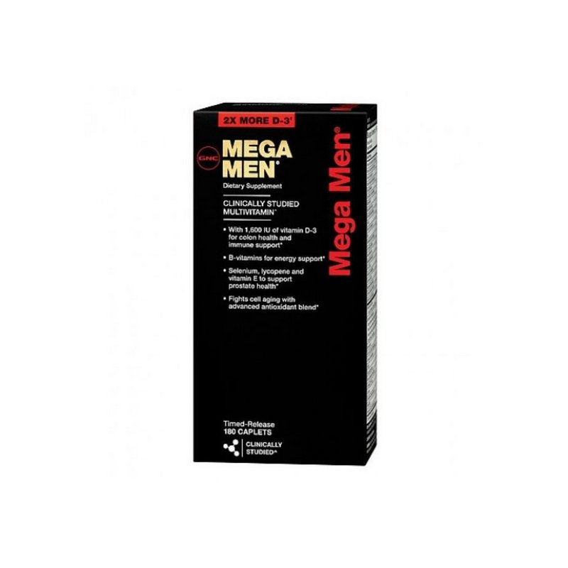 Multivitamínico Mega Men 180 Tabs - GNC