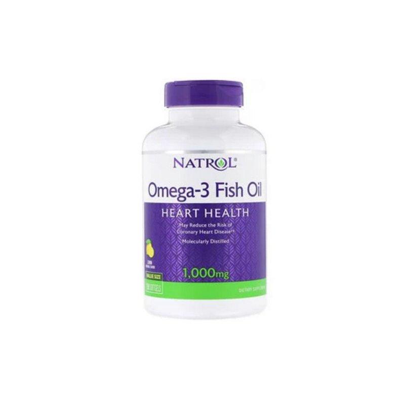 Oleo de Peixe Fish Oil Ômega-3  1.000 mg - Natrol
