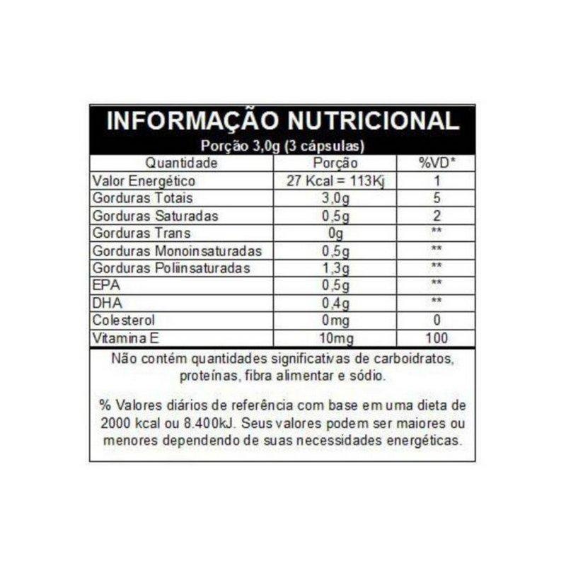 Omega 3 EPA DHA 120 Caps - Vitafor