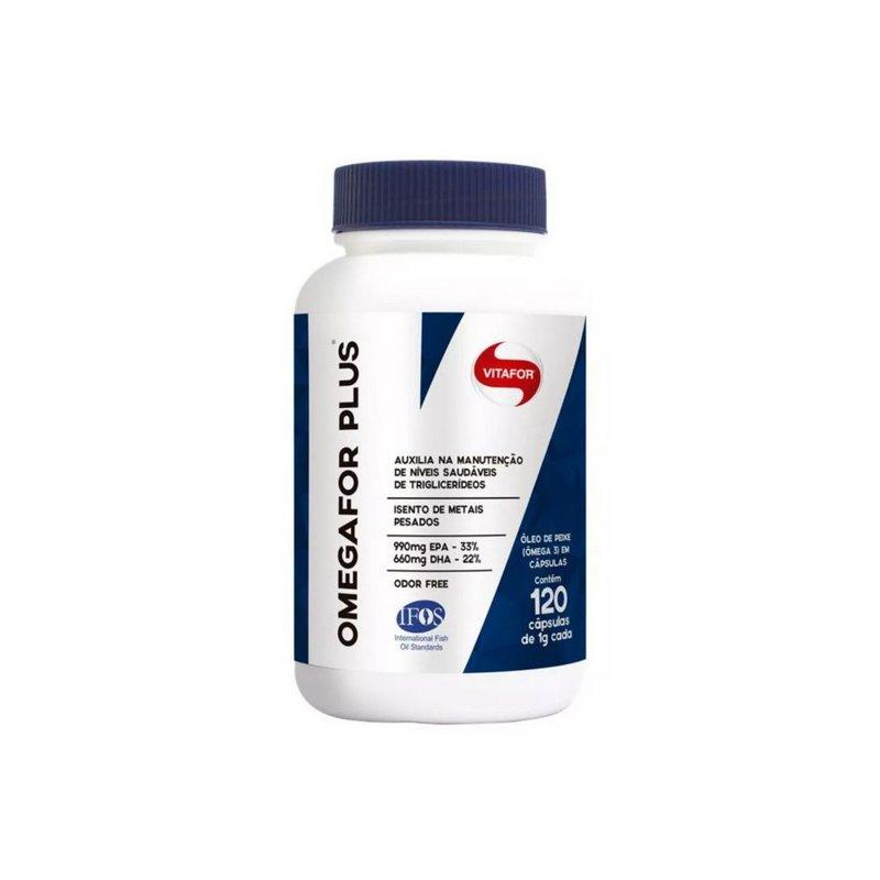 Ômega For Plus 120 Caps - Vitafor