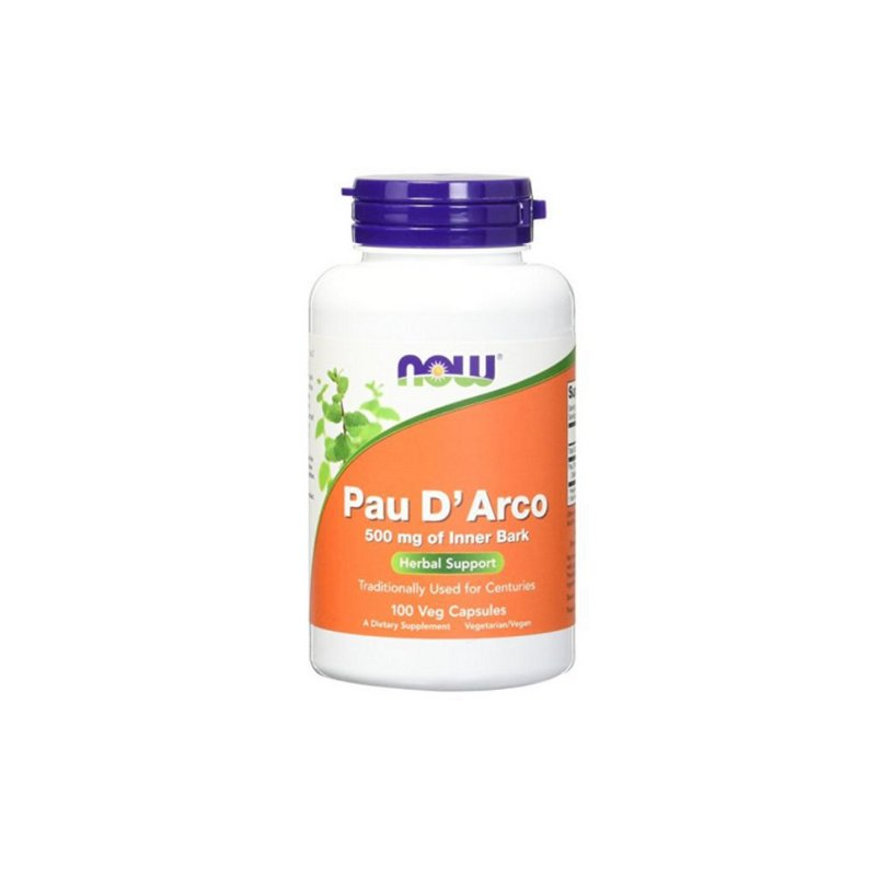 Pau D Arco 500mg 100 Cáps - Now Foods