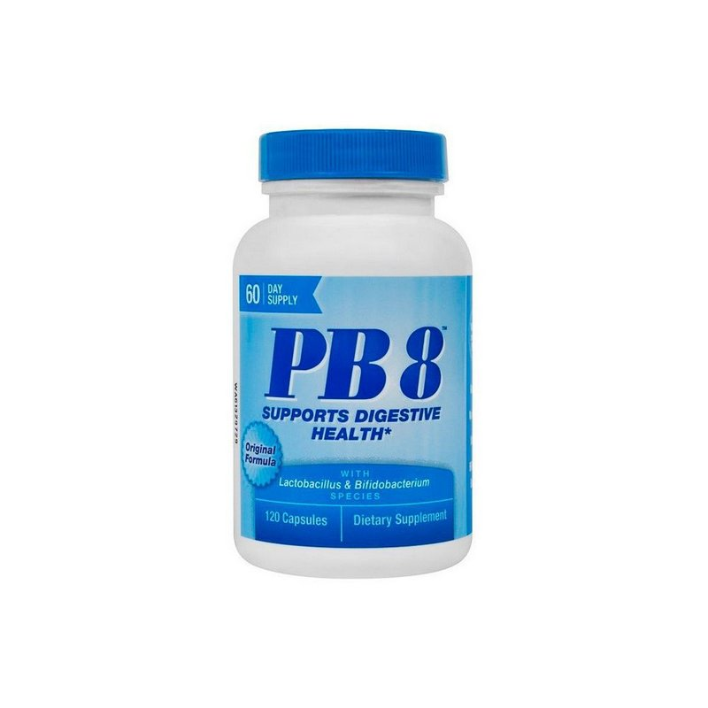 PB8 Probiótico 120 Caps Original Formula - Now Foods